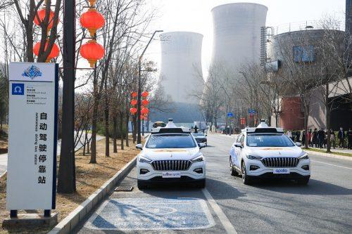 Les premiers taxis sans chauffeur sont en opération en Chine