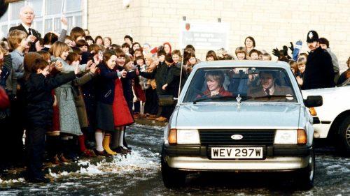 La Ford Escort 1981 de Lady Di à l'encan