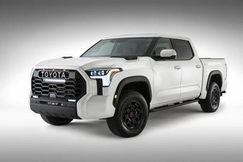 Voici une photo officielle du Toyota Tundra 2022