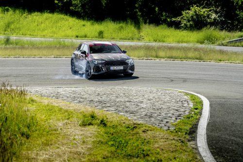 Vous pourrez faire du dérapage contrôlé avec la nouvelle Audi RS3
