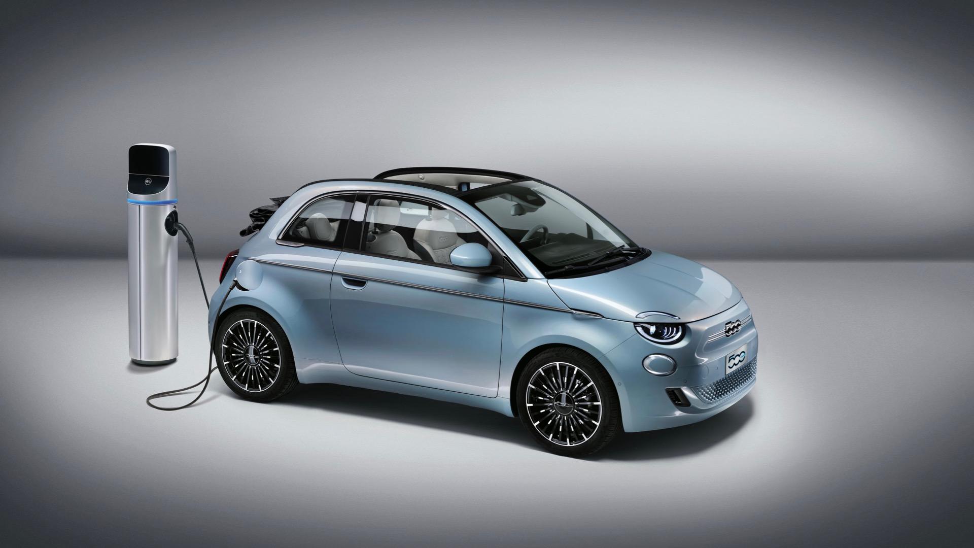 Fiat passera au tout électrique en 2030