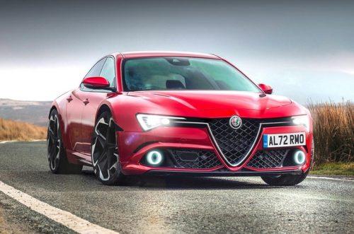 Une Alfa Romeo GTV électrique
