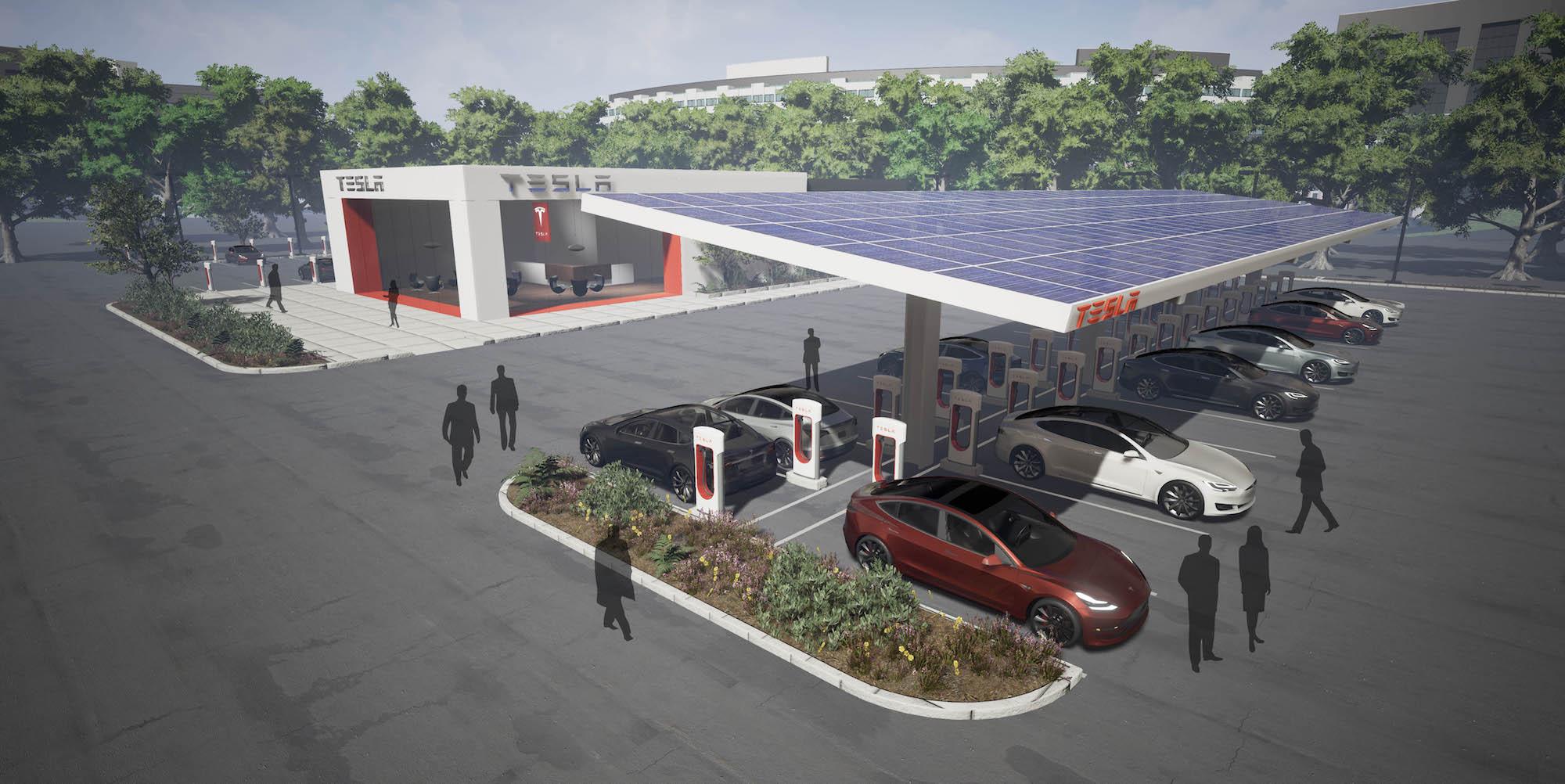 Un Tesla burger, ça vous intéresse ?