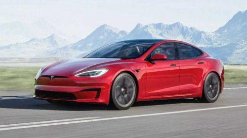 Elon Musk a officiellement présenté la Tesla S Plaid