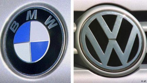 BMW et VW devront payer 1,3 milliard de dollars pour collusion