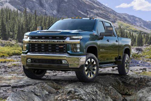Un rappel de 330 000 camions Silverado et Sierra HD