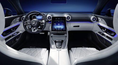 Voici l'intérieur de la nouvelle Mercedes SL