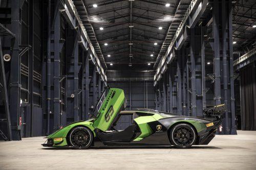 Lamborghini Essenza: uniquement pour la piste