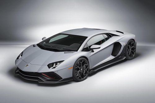La dernière Lamborghini Aventador à essence