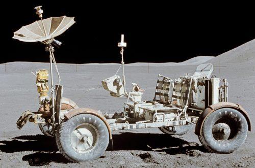 On a roulé sur la lune