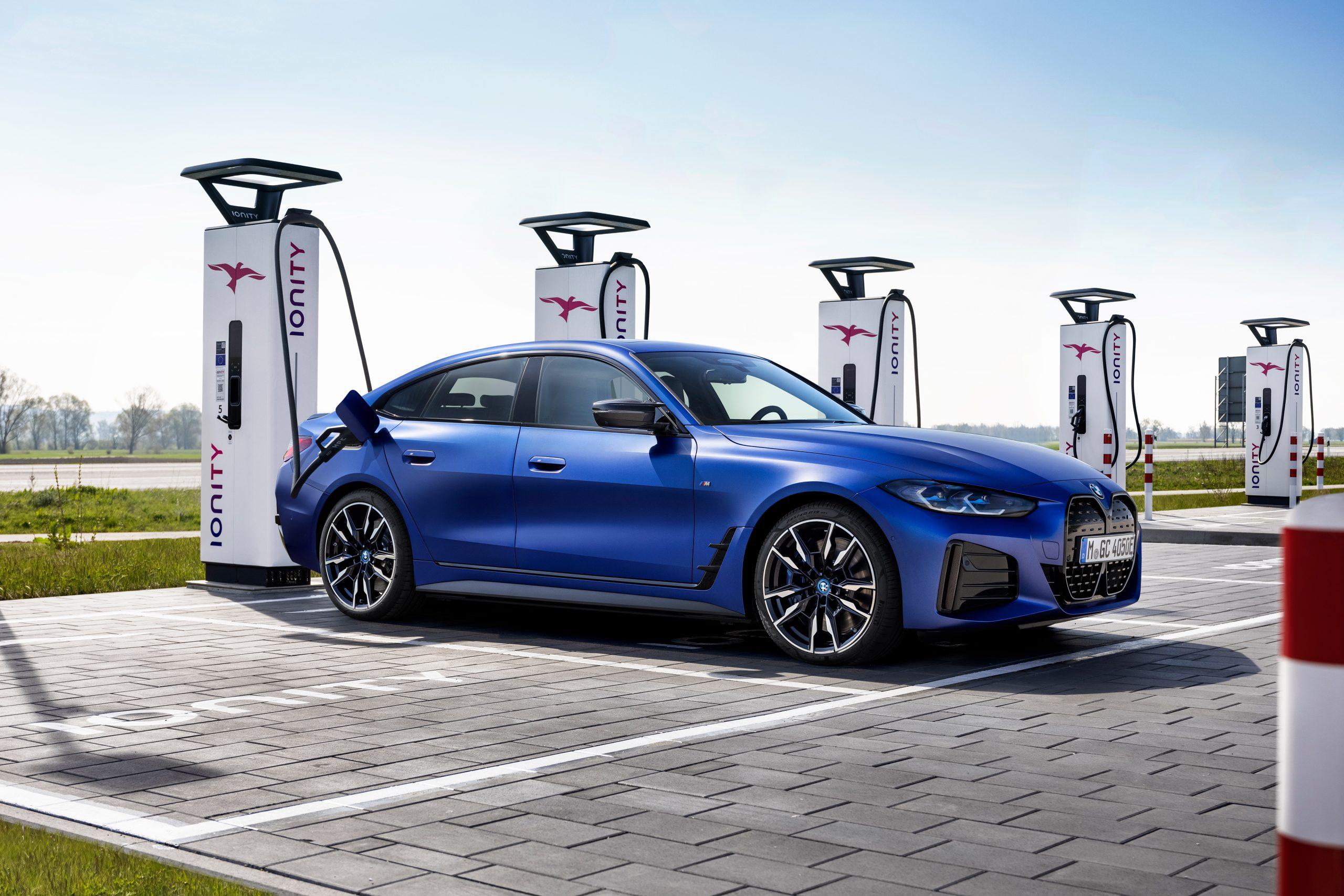 BMW Canada annonce le prix de la i4 2022