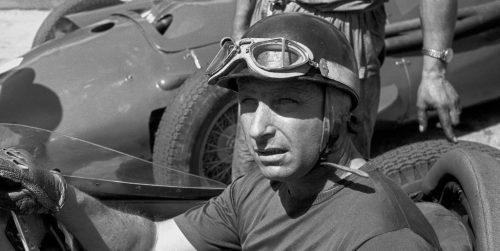 Juan Manuel Fangio fait sa première course en F1
