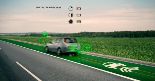 Charger son véhicule électrique en roulant
