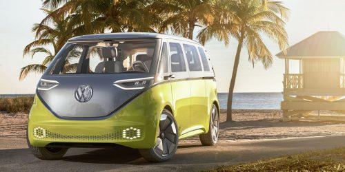 Trois versions du Volkswagen ID. Buzz en Europe, mais seulement une au Canada