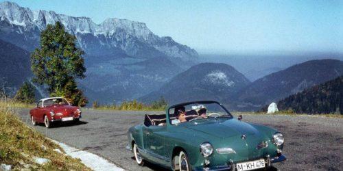 1er août 1957: Première Karmann-Ghia décapotable