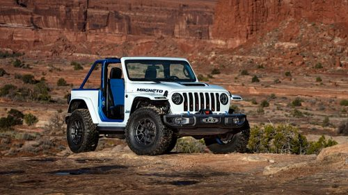 Un premier Jeep électrique en 2023