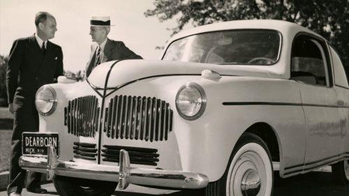 13 août 1941 : Ford présente le « Soybean car »