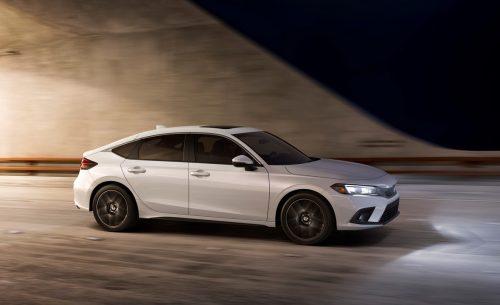 La Honda Civic à hayon 2022 à partir de 28000$