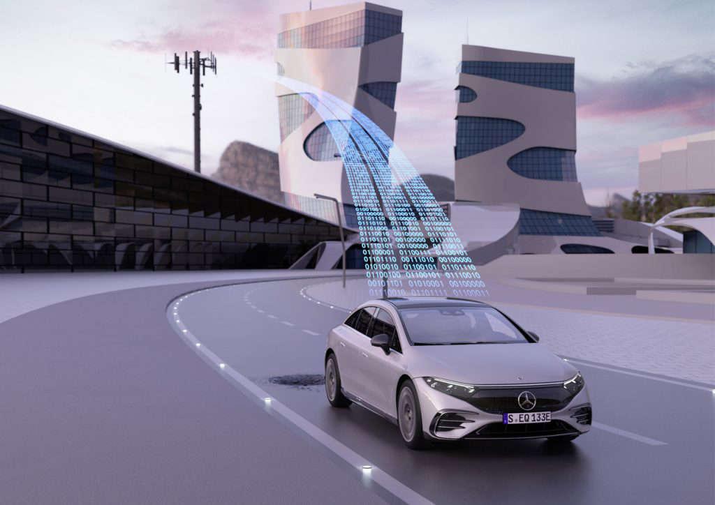 Des Mercedes capables de détecter les nids-de-poule